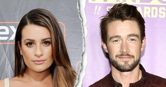 Lea Michele, Robert Buckley Split After Whirlwind Romance