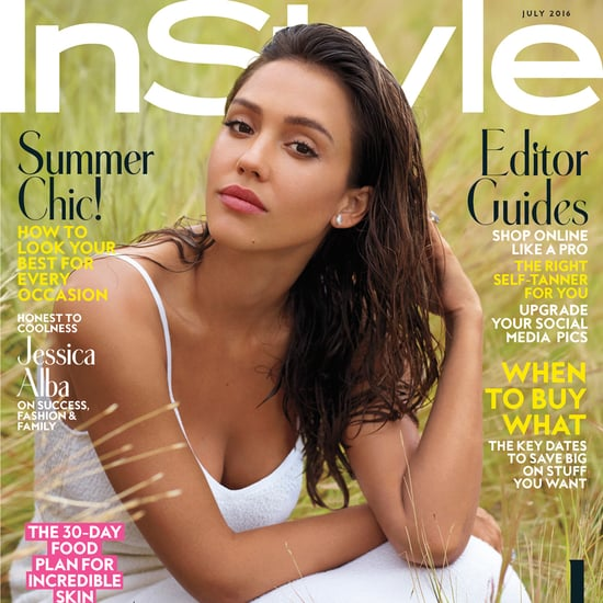 Jessica Alba on the Cover of InStyle July 2016