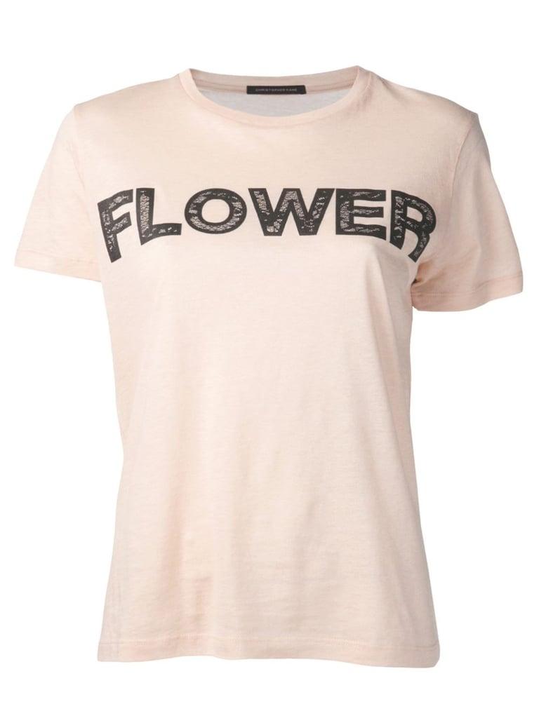 Christopher Kane Lace Flower T-Shirt