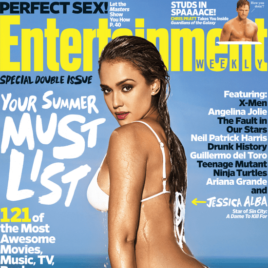 Jessica Alba on Entertainment Weekly Cover May 21, 2014