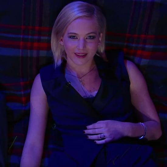 Jennifer Lawrence on Stephen Colbert December 2015