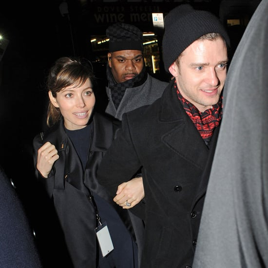 Justin Timberlake and Jessica Biel After the Brit Awards