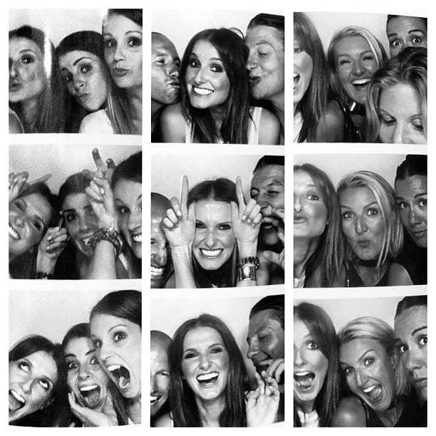 Kate Waterhouse and her friends had some photo booth fun. Source: Instagram user katewaterhouse7