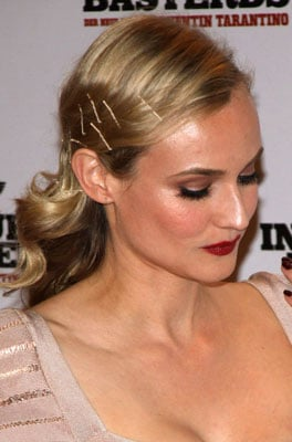 Diane Kruger's Bobby Pinned Hairstyle