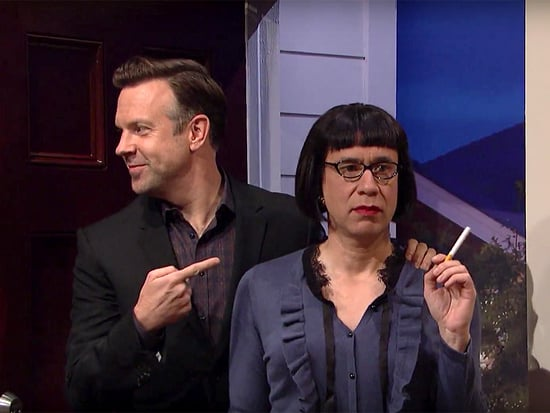Fred Armisen Plays Jason Sudeikis' Freaky New Girlfriend in SNL Finale, Almost Causing Cast Member Aidy Bryant to Burst into Lau