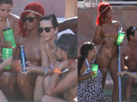 Pictures of Katy Perry's Bachelorette Party in Las Vegas With Rihanna