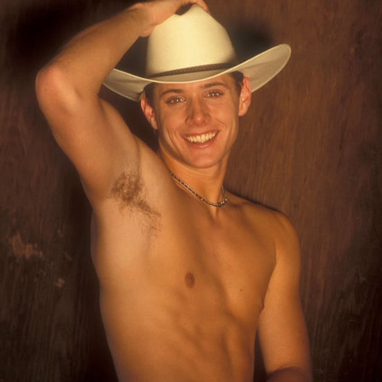Jensen Ackles Shirtless Cowboy Photo Shoot   Pictures