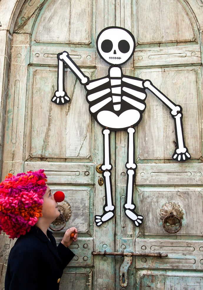 Trick-or-Treater Greeter