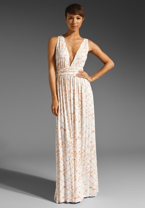 Wedding at the beach? Channel the destination's easy vibe in a breezy and sexy maxi dress.  Rachel Pally Sybil Dress ($242)