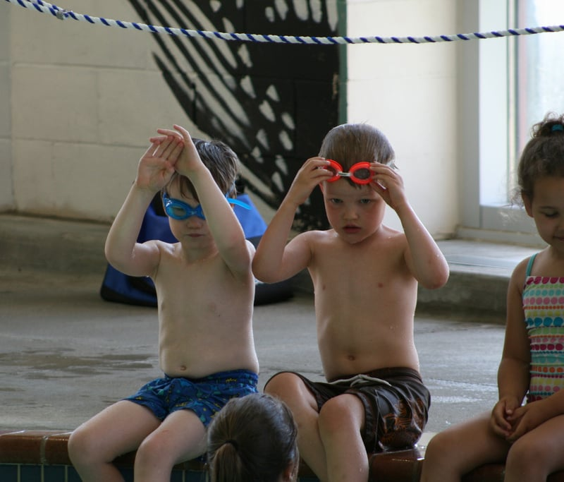 Swimming is a great way to get kids off the couch.