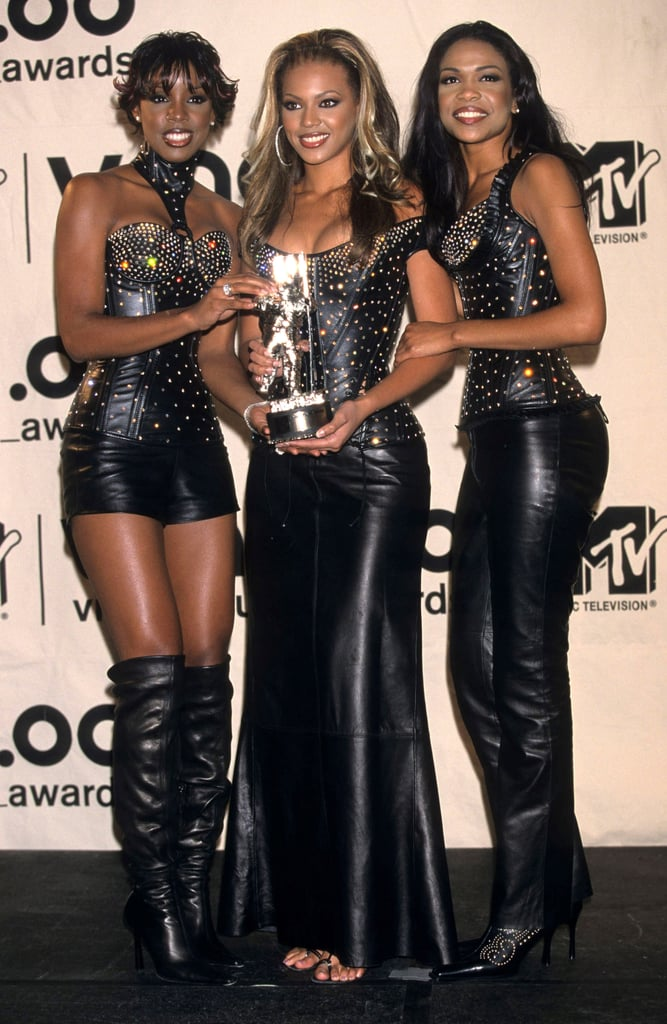 """2000: Destiny's Child picked up the best R&B video award for """"Say My Name."""""""