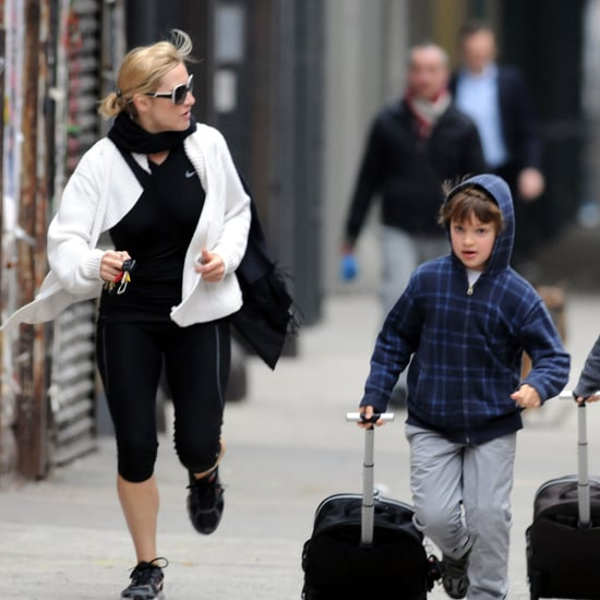 Pictures of Kate Winslet and Kids Mia and Joe
