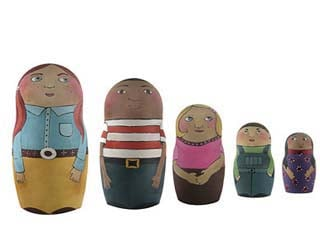 Crave Worthy: Personalized Nesting Dolls