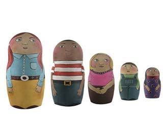 Crave Worthy: Personalized Nesting Dolls