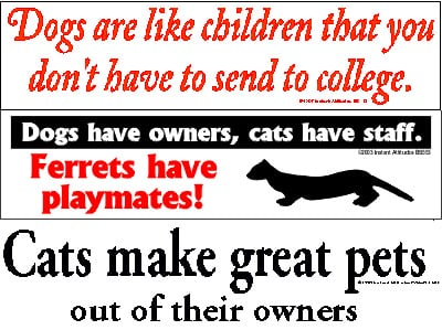 Gag Gift: Bumper Stickers