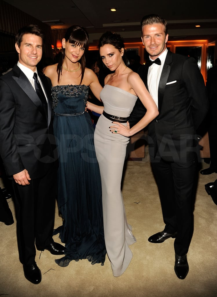Tom Cruise, Katie Holmes, and the Beckhams