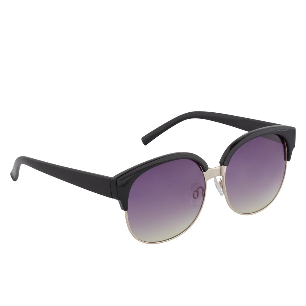 The retro classic feel of this Aldo pair ($12) will give you shade for years.