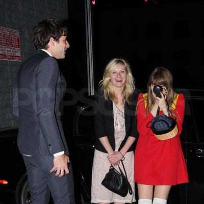 Kirsten Dunst Out With Mark Ronson in LA