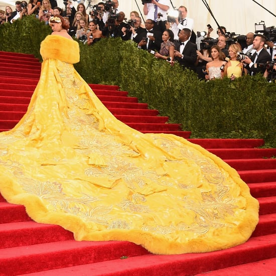 Met Gala Staircase Pictures 2015
