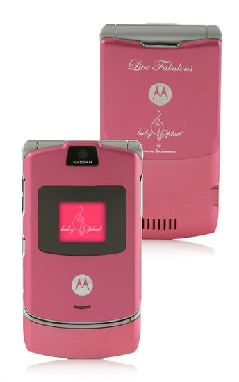 Limited Edition Pink Baby Phat RAZR and SLVR