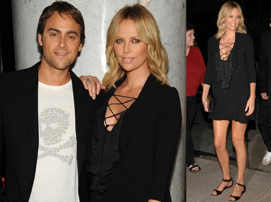 Photos of Charlize Theron and Stuart Townsend at Battle in Seattle Screening
