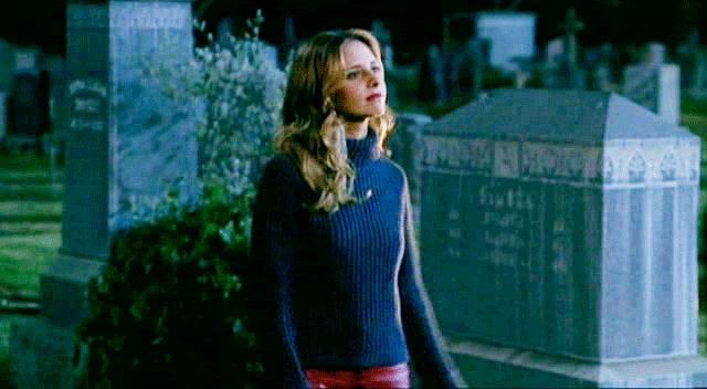 One of Buffy's finest attributes is her swagger.