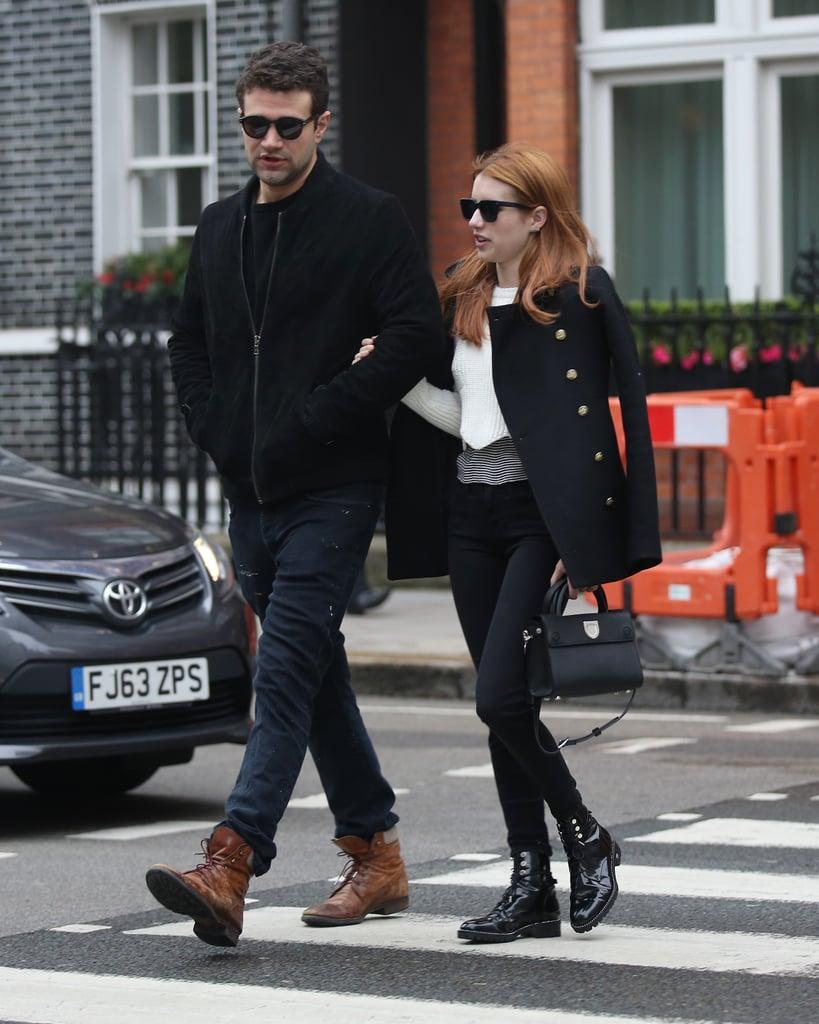 Emma Roberts Dating Christopher Hines   POPSUGAR Celebrity Australia