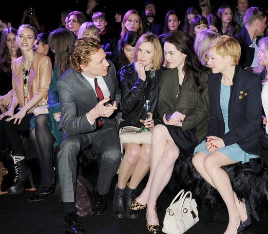 Tom Hiddleston, Laura Carmichael, Michelle Dockery and Michelle Williams