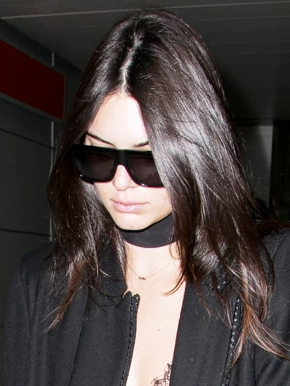 Kendall Jenner Just Made Lingerie a Stylish Airport Option