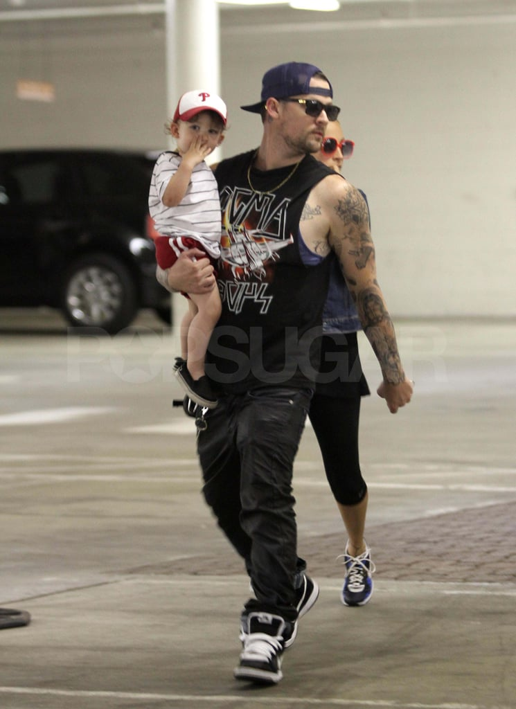 Nicole Heads Back Home From the Big Apple For a Lunch Date With Her Boys