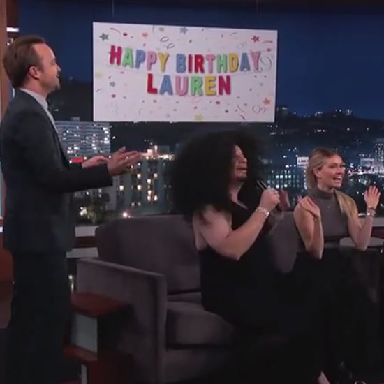 Aaron Paul Surprises His Wife on Jimmy Kimmel Live | Video