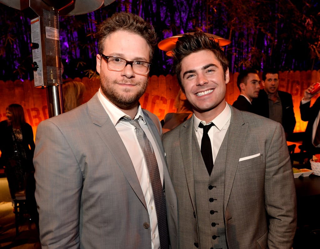 And Zac and Seth ended the night with the perfect photo.
