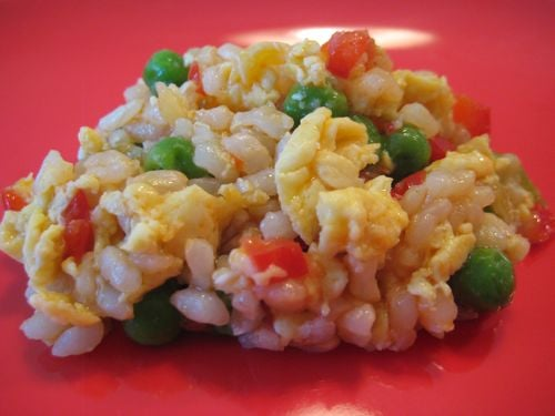 """Vegetable """"Fried"""" Rice"""