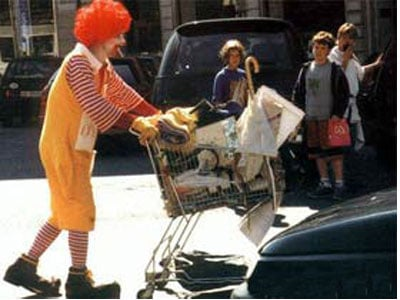 Ronald McDonald: Out Of A Job In NYC?