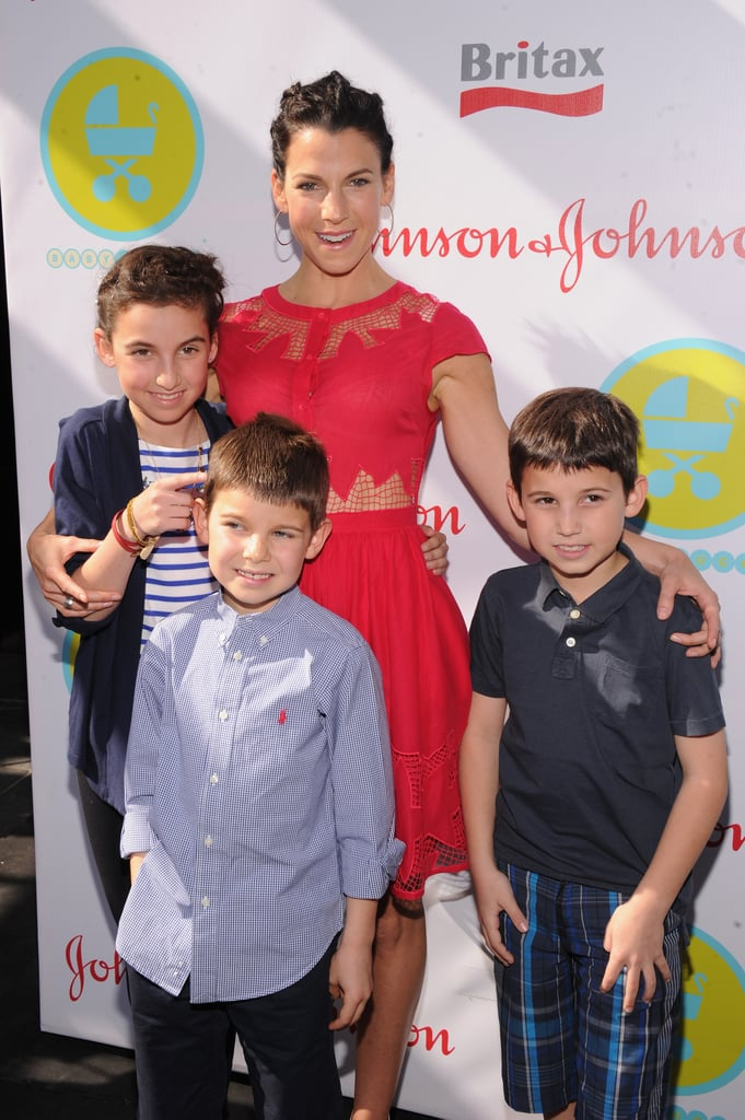 Jessica Seinfeld was surrounded by her kids at the 2013 Baby Buggy Bedtime Bash.