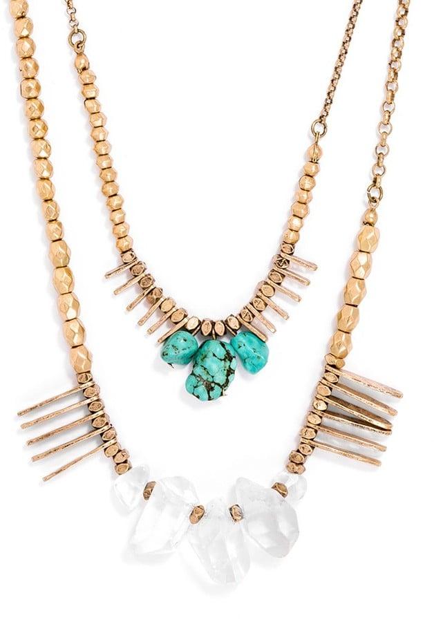 BaubleBar Jeweled Necklace