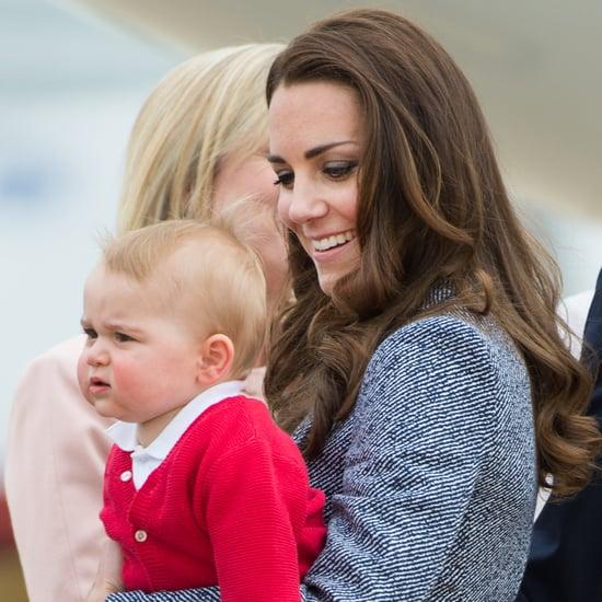 Prince George on Royal Tour 2014