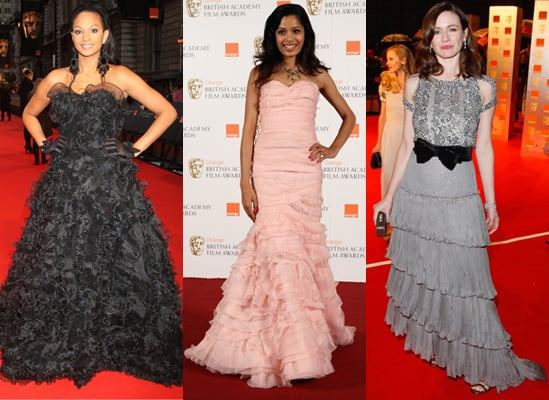 BAFTA Awards Dresses