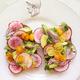 This combination of avocado, greens, tomato, onion, and radish is like having a salad on a piece of bread. Source: Instagram user tavoladelmondo