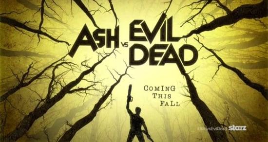 Here's the Groovy First Teaser for Starz's 'Ash vs Evil Dead' (VIDEO)