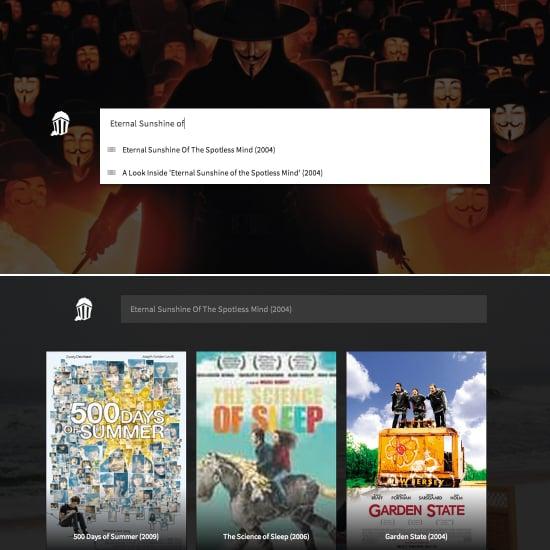Movie Recommendation Site