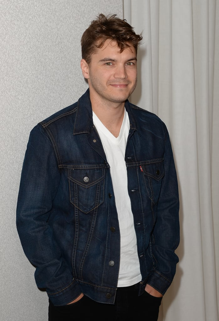 Emile Hirsch was in attendance for InStyle's Summer party.