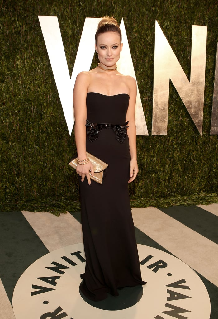 Olivia Wilde's Best Not-So-Basic Black Dresses