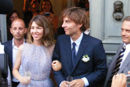 Sofia Coppola Alaia Wedding Dress — Full-Length [Pictures]