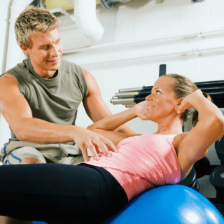 How to Use an Exercise Ball Properly
