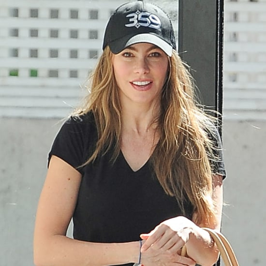 Sofia Vergara Working Out Before Fourth of July 2016
