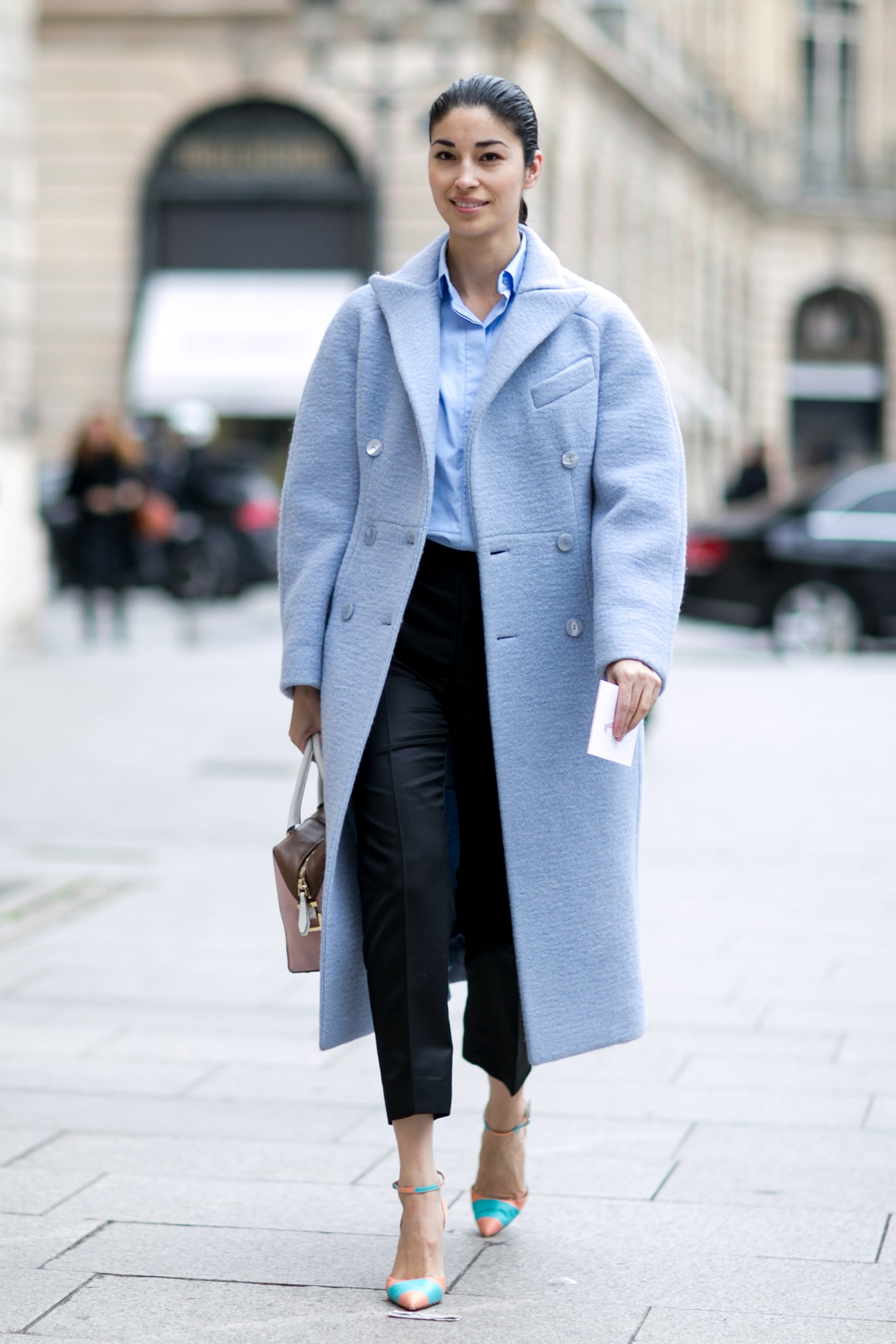Caroline Issa captivated us with one great piece of outerwear.