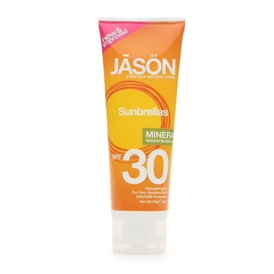 People with very sensitive skin will go crazy over Jason Natural Mineral Sunscreen ($15), which is hypoallergenic.