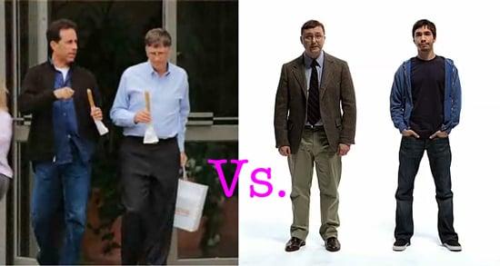 Who Wins: Microsoft's Seinfeld Ads or Apple's Mac vs. PC Ads?