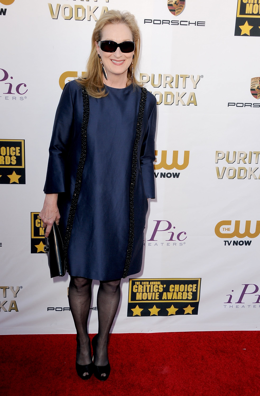 Meryl Streep at the Critics' Choice Awards 2014